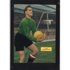 Signed picture of Alan Hodgkinson the Sheffield United footballer.