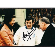 SALE: Signed photo of Alan Mullery the Tottenham Hotspur footballer.