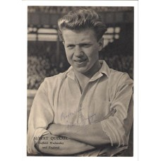 Signed picture of Albert Quixall the Sheff Weds & Man United footballer