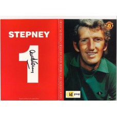 Signed reunion dinner menu by Alex Stepney the former Manchetser United footballer