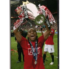 Signed photo of Anderson the Manchester United footballer