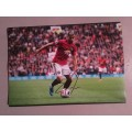 Signed photo of Andreas Pereira the Manchester United footballer.