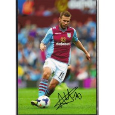SALE: Signed photo of Andreas Weimann the Aston Villa footballer.