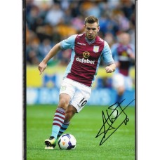 SALE: Signed photo of Andreas Weimann the Aston Villa footballer