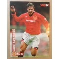Signed picture of Andrei Kanchelskis the Manchester United footballer.