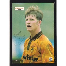 SALE: Signed picture of Andy Mutch