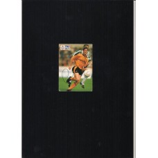 Signed football card by Andy Mutch the Wolverhampton Wanderers footballer.