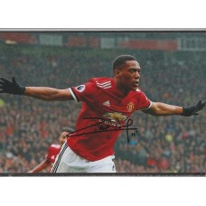 Signed photo of Anthony Martial the Manchester United footballer.