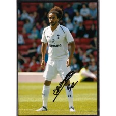SALE: Signed photo of Benoit Assou Ekotto the Tottenham Hotspur footballer.