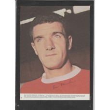 Signed picture of Bill Foulkes the Manchester United Footballer