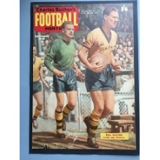 Signed picture of Bill Slater the Wolverhampton Wanderers footballer.