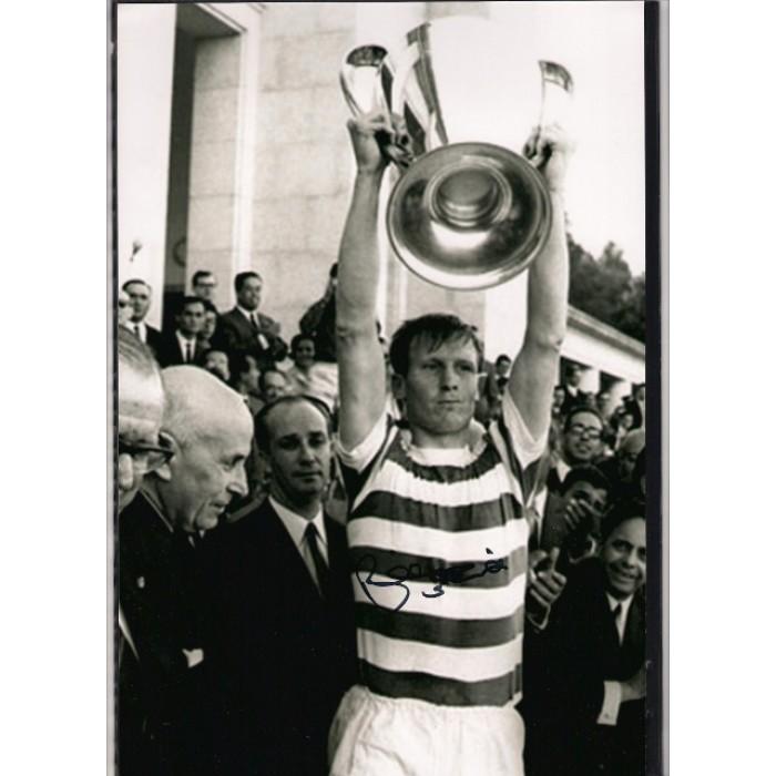 Billy Mcneill Footballer Billy Mcneill