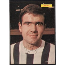 Signed picture of Bobby Hope the West Bromwich Albion (WBA) footballer.