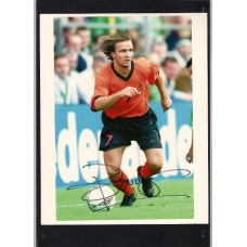 Signed photo of Bolo Zenden the Netherlands footballer.