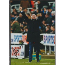 Signed photo of Claudio Ranieri the Leicester City Manager.