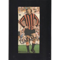 Signed picture of Colin Bell the former Manchester City footballer.