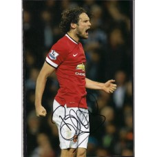 SALE: Signed photo of Daley Blind the Manchester United footballer.