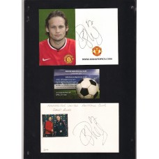 Official photo card of Daley Blind the Manchester United footballer.