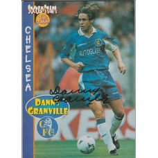 Signed picture of Danny Granville the Chelsea footballer