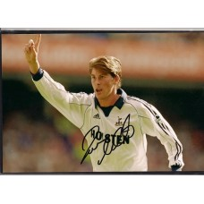 Signed photo of Darren Anderton the Tottenham Hotspur and England footballer.
