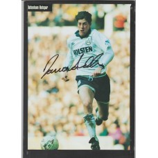 Signed picture of Darren Anderton the Tottenham Hotspur footballer.