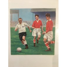 Signed picture of Don Townsend the Charlton Athletic footballer.