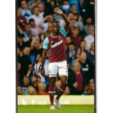 Signed photo of Enner Valencia the West Ham United footballer.