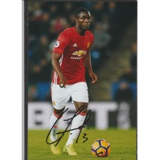 Signed photo of Eric Bailly the Manchester United footballer.
