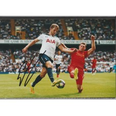 Signed photo of Eric Dier the Tottenham Hotspur footballer.