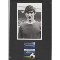 Signed picture of Francis Burns the Manchester United footballer.