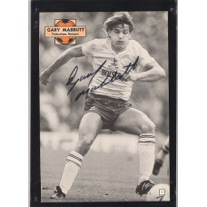 Signed picture of Gary Mabbutt the Tottenham Hotspur footballer.