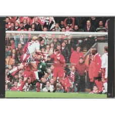 Signed photo of Gary Pallister the Manchester United footballer.