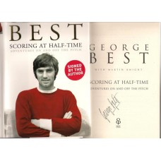 Manchester United Legend George Best Signed Hardback Book. SORRY SOLD!
