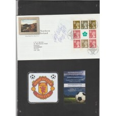 George Best First Day Cover Signed by the Manchester United Star