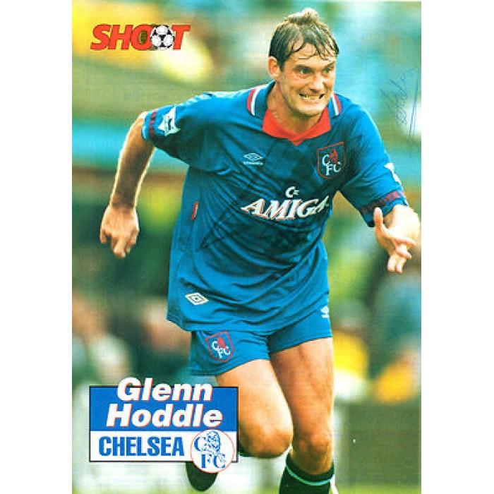 Signed Picture Of Glenn Hoddle The Chelsea Footballer