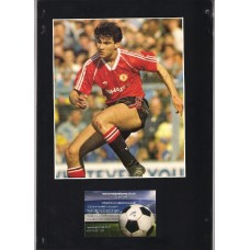 Signed picture of Guiliano Maiorana the Manchester United footballer.