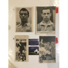 Signed picture of Charlie 'Chic' Thomson the Nottingham Forest footballer.