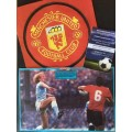 Signed picture of Graeme Hogg & Mark Lillis the Manchester United/City footballers.