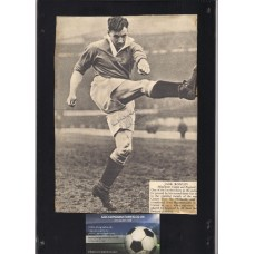 Signed picture of Jack Rowley the Manchester United footballer.