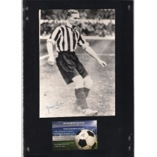 Signed photo of Jack 'John' Swain the Grimbsy Town Footballer.  SORRY SOLD!