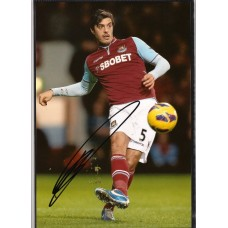 SALE. Signed photo of James Tomkins the West Ham United footballer.