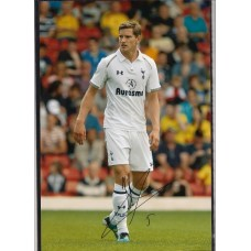 Signed photo of Jan Vertonghen the Tottenham Hotspur footballer.