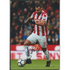 Signed photo of Jese the Stoke City footballer.