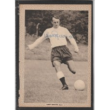 Signed picture of Jimmy Greaves the Tottenham Hotspur footballer