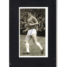 Signed picture of Jimmy Nicholson the Manchester United footballer