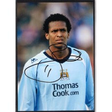 World Cup: Signed photo of Jo the Manchester City footballer.