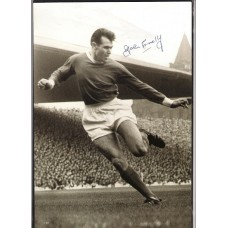 Signed picture of John Connelly the Manchester United footballer