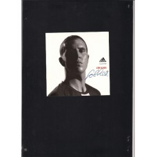 Promo Card signed by John OShea the Manchester United footballer