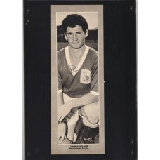 Autograph of John Rowland the Nottingham Forest footballer.