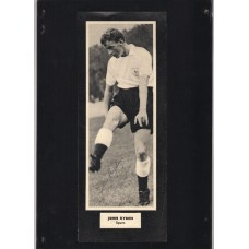 Signed picture of John Ryden the Tottenham Hotspur footballer.